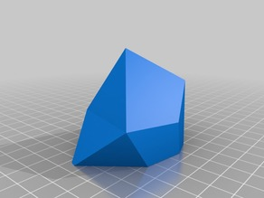 Low-poly Crystal