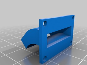 Fan duct Anycubic Kossel V6
