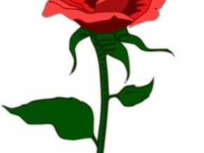 Rose (2) for Unicorn Pen Plotter