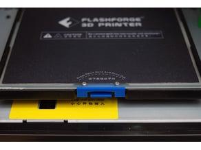 FlashForge Adventurer 3 Bed Plate Latch