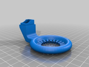 Noozle Cooling 360° PERFEKT Point cooling Maxed out for Prusa I3 by Pierre H.