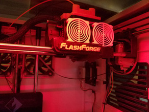 FF Front Fan Duct (Embossed Logo)