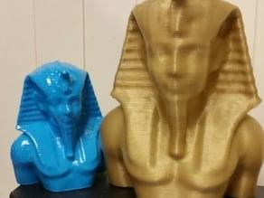 Egyptian head and torso