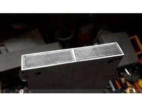 R-CNC End caps for aluminium section