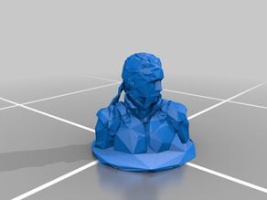 Low Poly Solid Snake