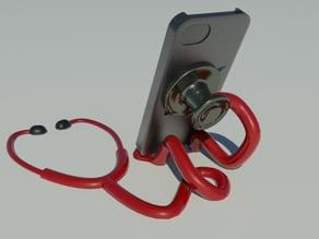 stethoscope smartphone stand