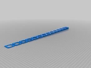 Braces for NEMA 17_42 stepper motor - 2 to 15 mm thick