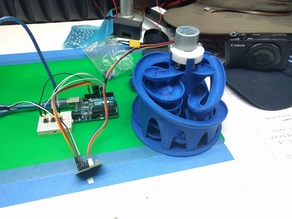 Motor Drive for Tulio Marble Machine #3