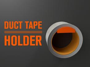 Duct tape holder