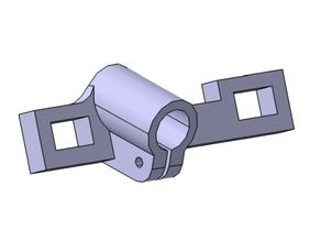 Miter saw laser holder - dexter