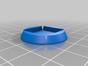 wargame - 20mm Square base to round converter
