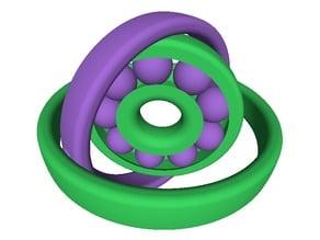 Fidget Bearing Gyroscope