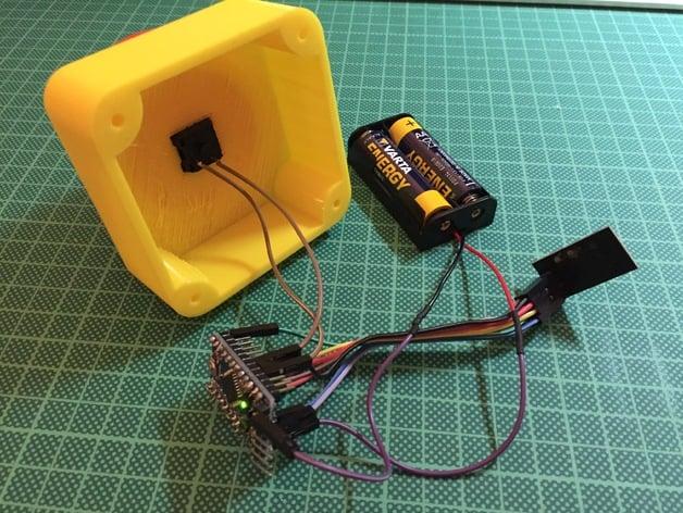Signal Repeater Panik Taste Panik Button Panik Knopf Panic SMANOS SR1000