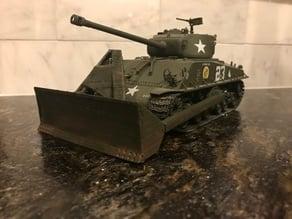 M4 Sherman Dozer Plow