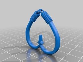 Hart shape hooks