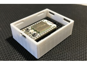 Mini box with cover for particle Photon / Core with breadboard