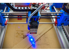 CoreXY Laser Engraver Mk2