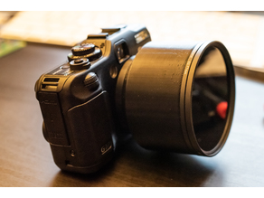 Canon G12 (G10 and G11) Filter Holder 77mm