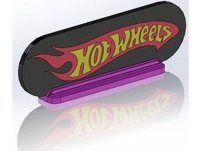 HotWheels logo 3 color