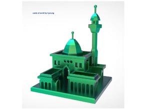 Castle of world miniature