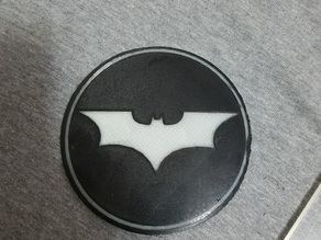 Batman Coaster (dual extrusion)