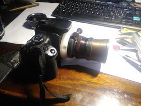 Konvas Lomo oct 18 to Canon EF mount Adapter