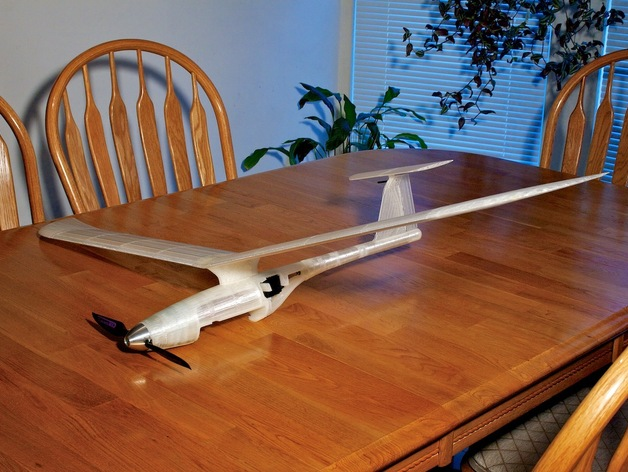 Fully 3d Printed Modular Rc Sailplane By Walt Thingiverse