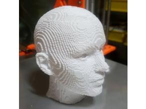 head pixel