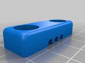 1/8 Hose holder for optical table