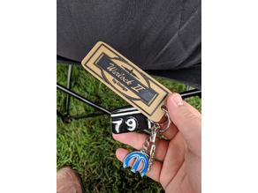 Dodge Warlock II Keychain