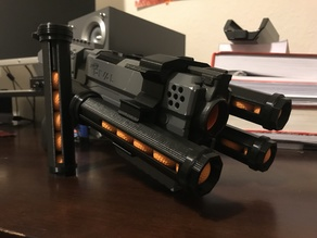 Nerf Kronos Speed Loader and Rail Bracket