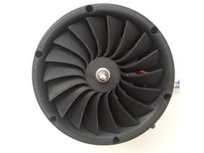 EDF turbine prototype
