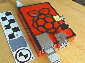 slim Raspberry Pi B case