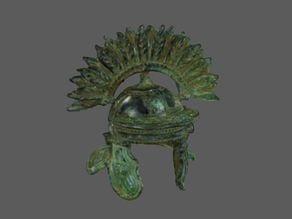 Centurion Helmet 3D Scan