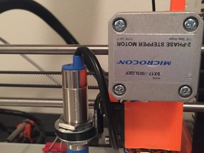 Proximity sensor mount for LJ18A3-8-Z/BX 8mm sensor for Wilson or Prusa i3
