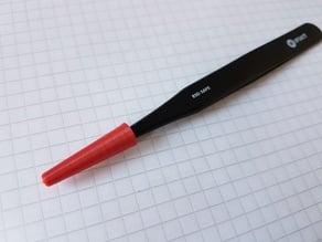 TweezerCap: protection cap for tweezers