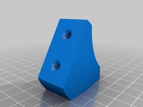 Side Spool Mount for Creality Ender 3  or 20-4040 extrusion