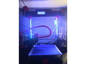 LED Clip for Anet A8 Frame