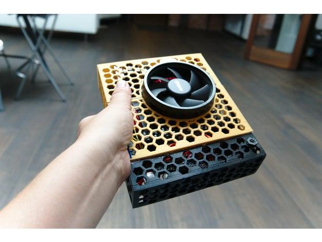 Ryzen 5 2400G Mini-ITX with ASROCK AB350 Gaming-ITX