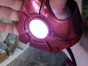 Iron Man MK6 MK 6 Glove Hand with repulsor
