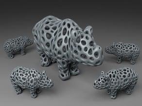 Rhino - Voronoi Style