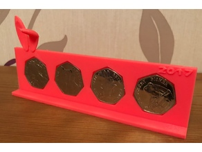 Collectors 50p Coin Holder