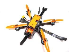"FlexRC Ascent 3-4"" Short Canopy"