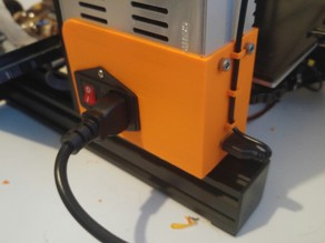 Ender 3 Power Supply cover USB upgrade for OctoPi/OctoPrint