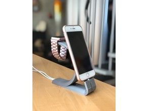 iPhone + Apple Watch Charging Stand