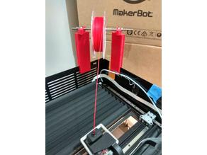MakerBot Z18 spool holder