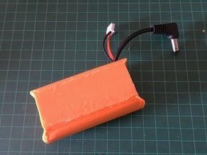 Lio-ion 18650 2S FPV Goggles case