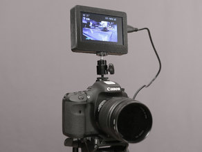 DIY monitor for DSLR cameras or any HDMI device!