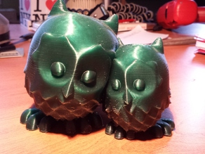 cuddling Owls improved by St0rmingBr4in