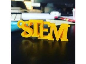 STEM keychain